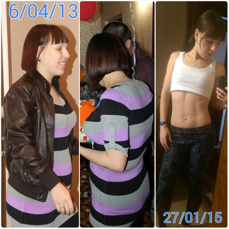 как я похудела во время беременности