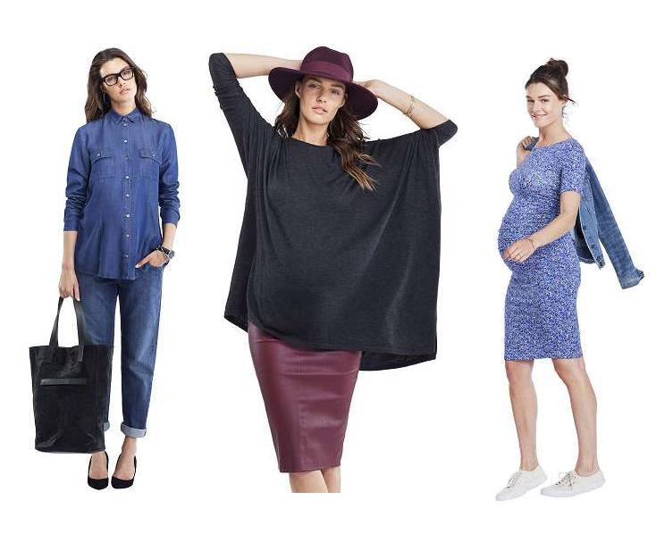 Новая коллекция одежды для беременных от Изабелла Оливер Осень-Зима 2014 2c8eed73c08