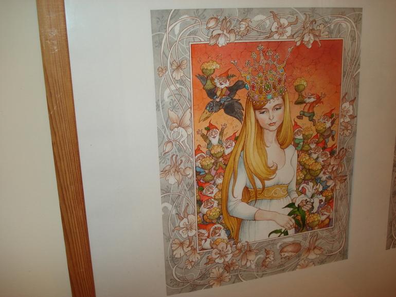 Открытие выставки иллюстраций Ольги Ионайтис
