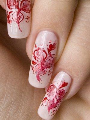Рисунки на ногтях.(мк)