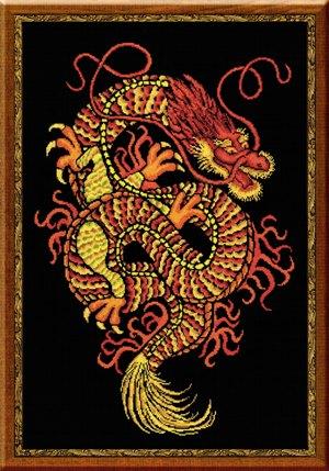 Вышивка дракон примета