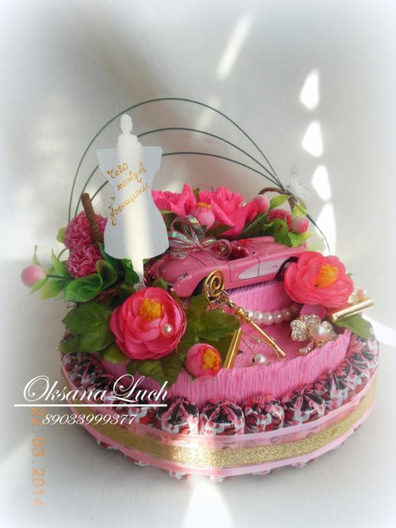 Торт на год с фруктами фото 9