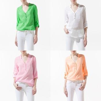 Модные Рубашки И Блузки В Омске