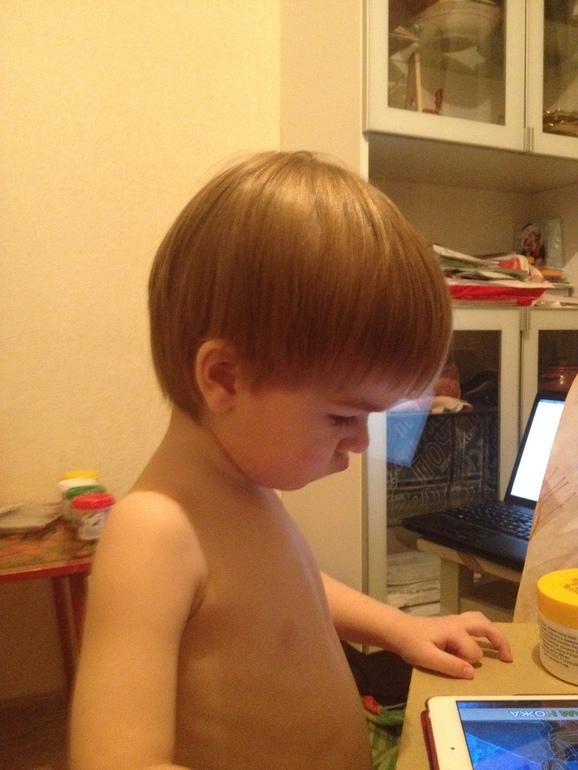 Как мы сходили в обычную парикмахерскую...