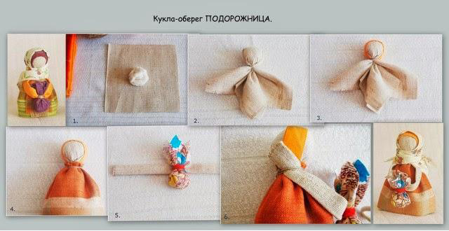 Кукла оберег своими руками мастер класс