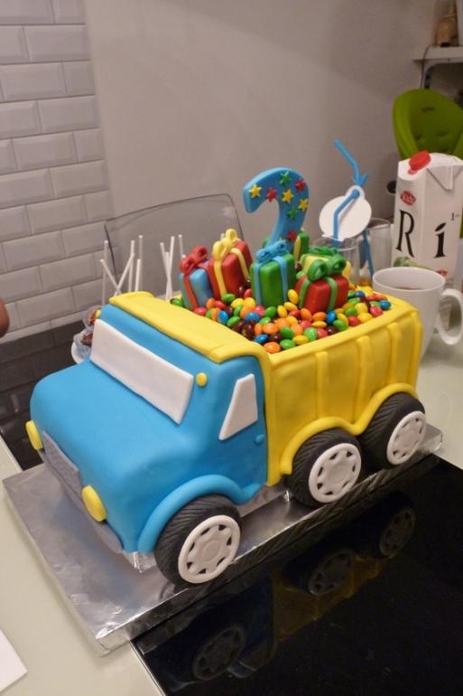 Мастер класс торта грузовик 90