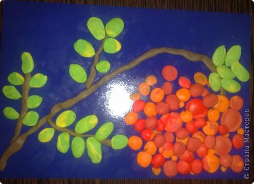 Осенние поделки из пластилина своими руками