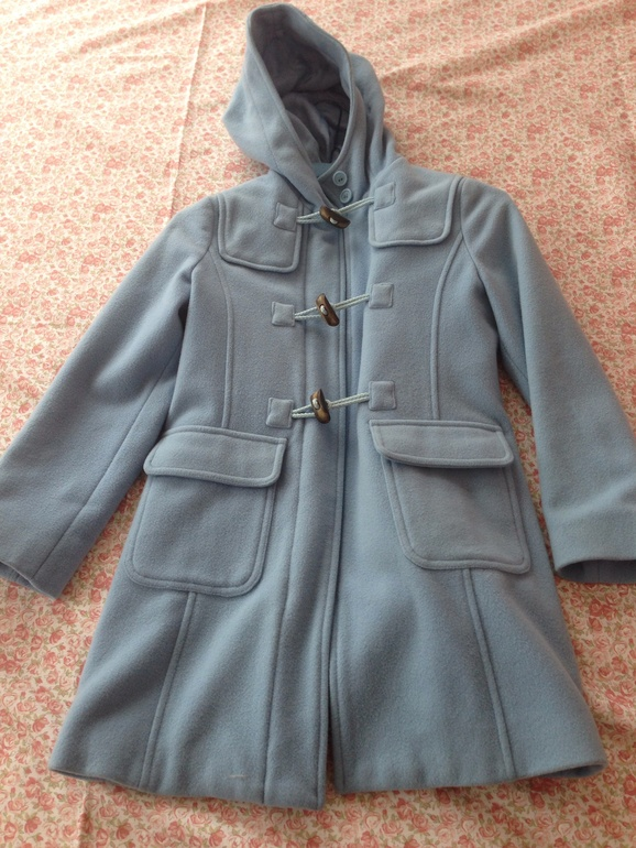 Пальто беннетон на 8 лет