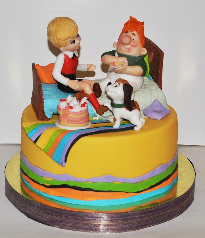 торт карлсон фото