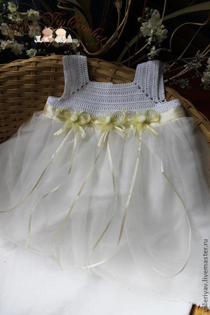 Распродажа платьев для девочек BabyVipCrochet