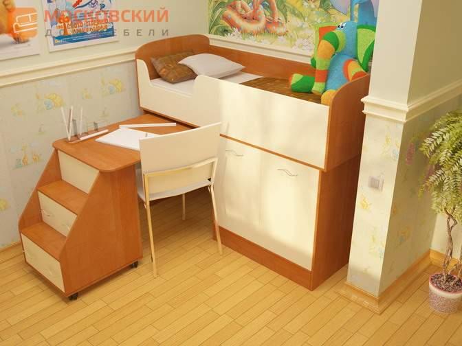 Продаю  кровать  -чердак  (состояние  отличное)  пользовались  всего  месяц  -  6000