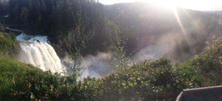 Водопад Сноквалми, Тихий океан или просто: в гостях у брата