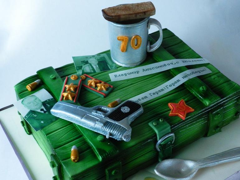 Торт для военной разведки
