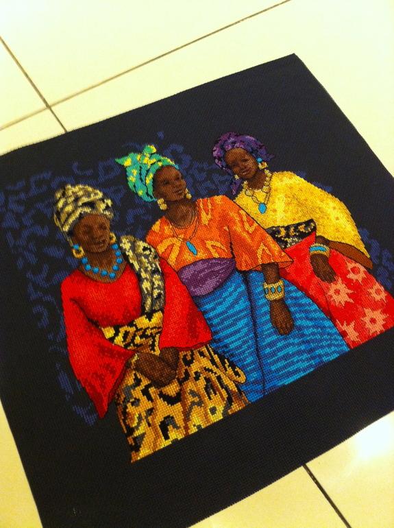 «Три женщины» Dimensions