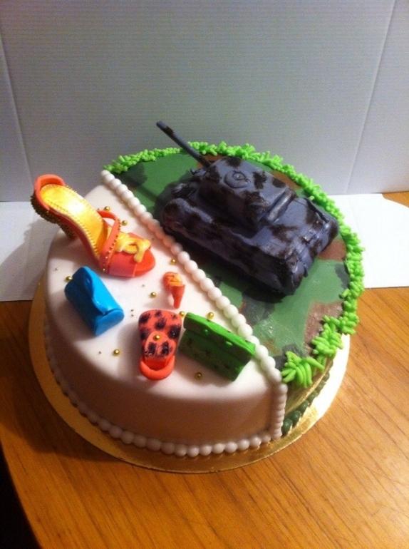 Торт на заказ Двойной праздник  Торты на заказ в СПб