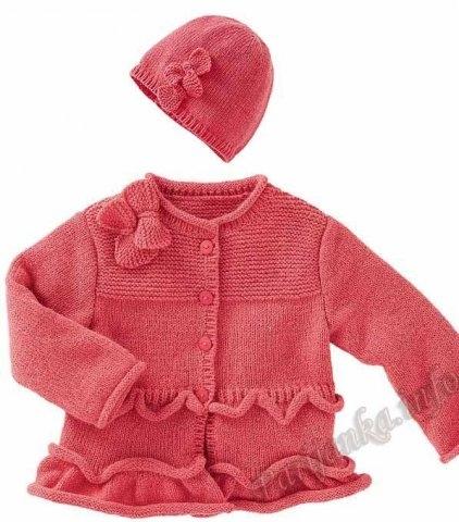 Парижанка ру вязание для малышей 7