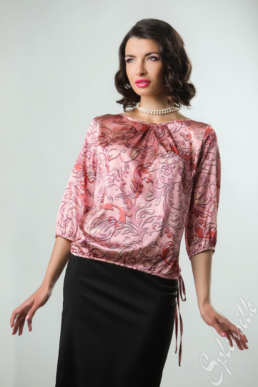 Блузки Из Шелка Модные В Самаре