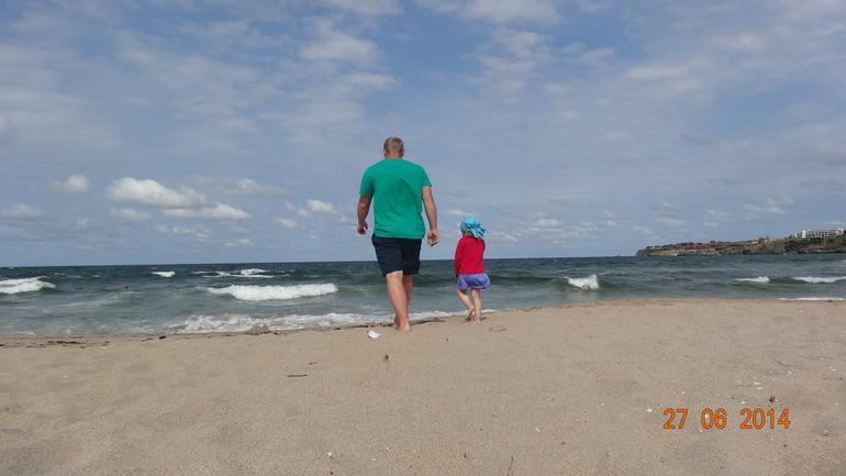 Наш первый выезд на море