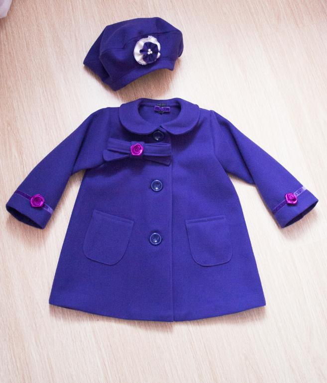 Сшить пальто на ребенка 630