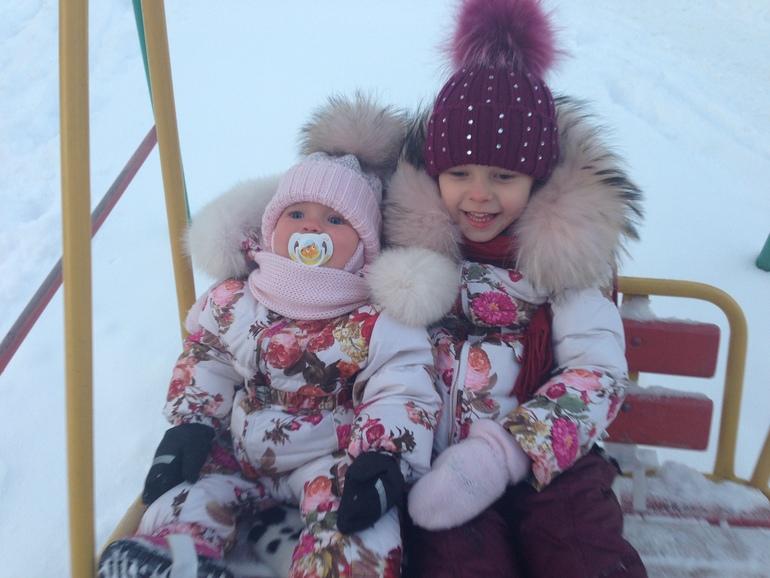Нам морозы не страшны, веселимся от души :)