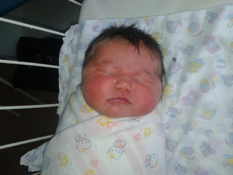 Моей младшенькой Анастасеньке 1годик!