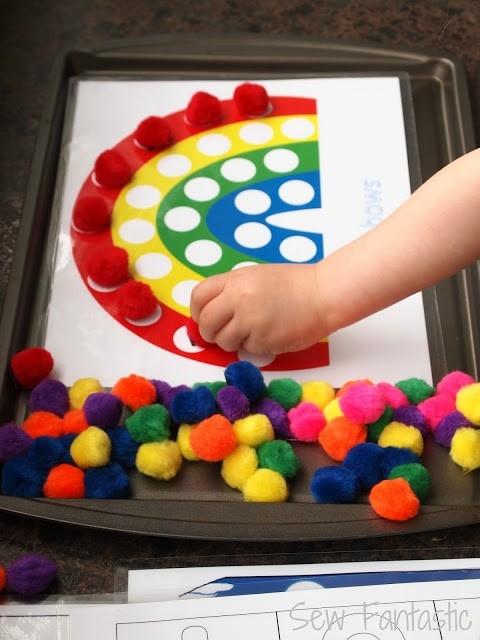 Игры с цветом своими руками фото