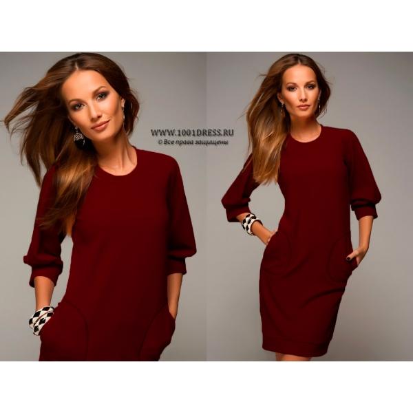 Продам платье цвет граната размер S