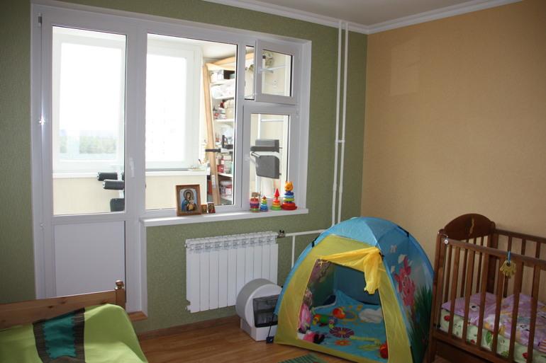 как оформить окно в детской фото
