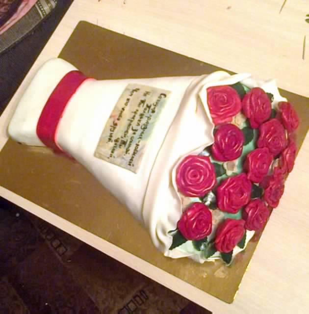букет роз (извините за качество фото)