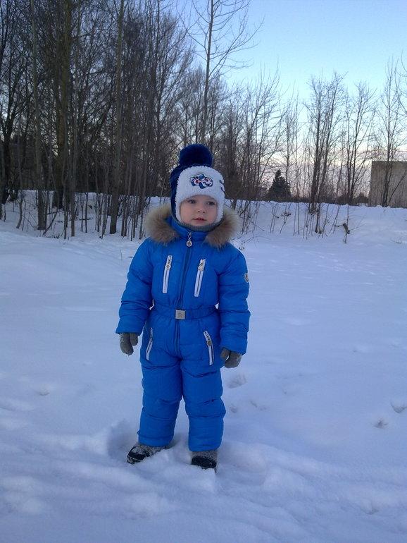 Мой сынок. Зима 2014