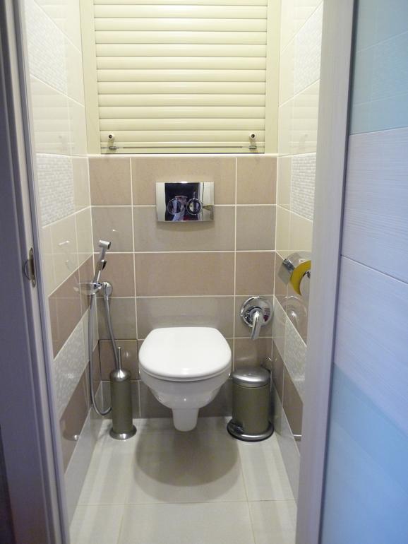 Вчера  ванная,  сегодня-  туалет))