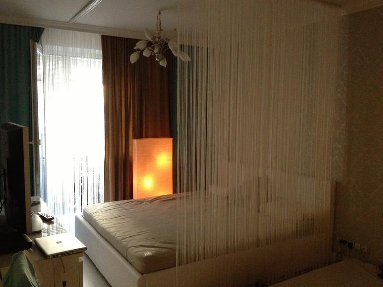 Нитяные шторы белые 2х 3 метра,уже с тесьмой,перхап