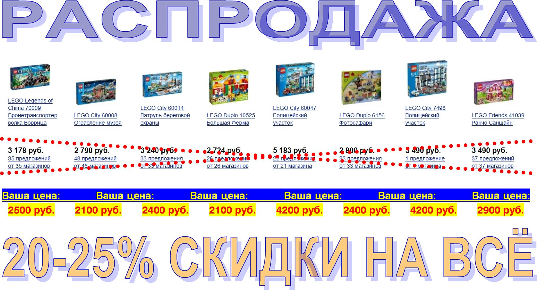 Продаются новые наборы LEGO DUPLO, CHIMA, CITY.