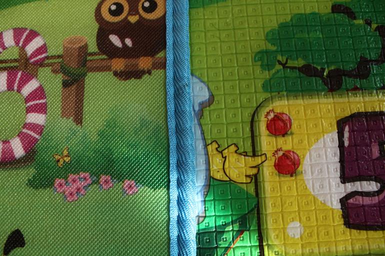 Детские коврики толщиной 2 см. Мои впечатления