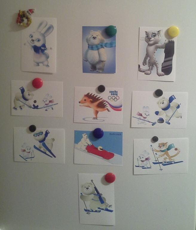 Наша Олимпиада. Первая тематическая неделя