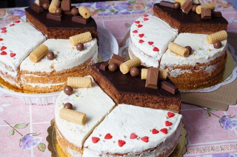 Торт ассорти фото