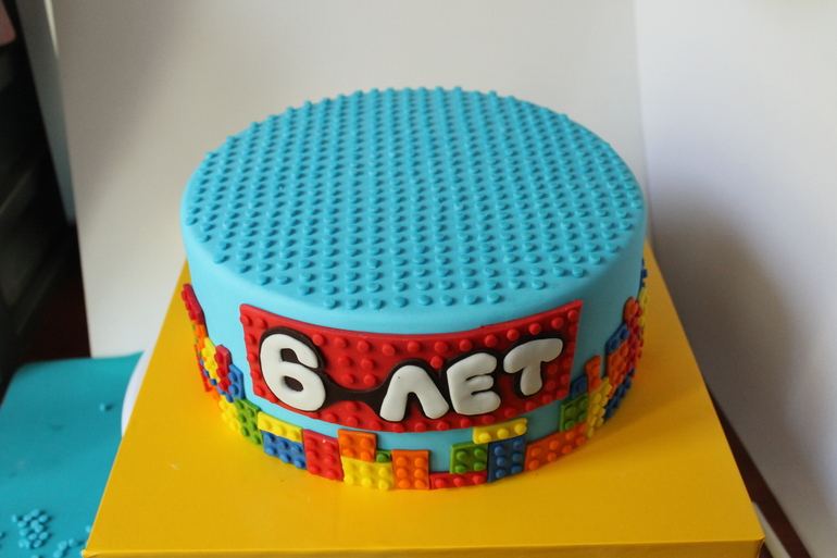 Торт лего пошагово своими руками 86