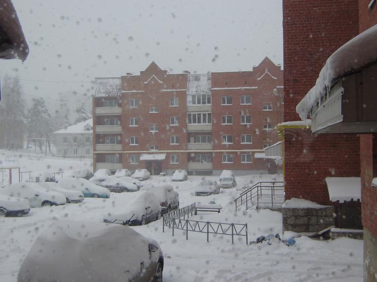 Уральская погода...