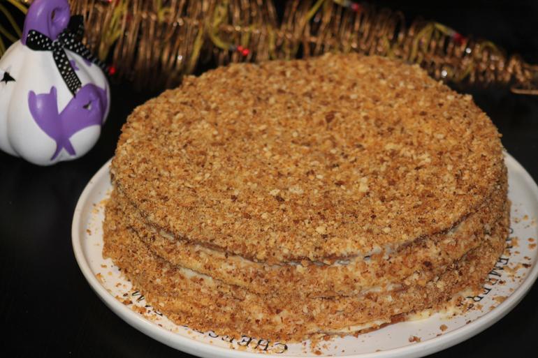 Торт клубника с бананом фото 1