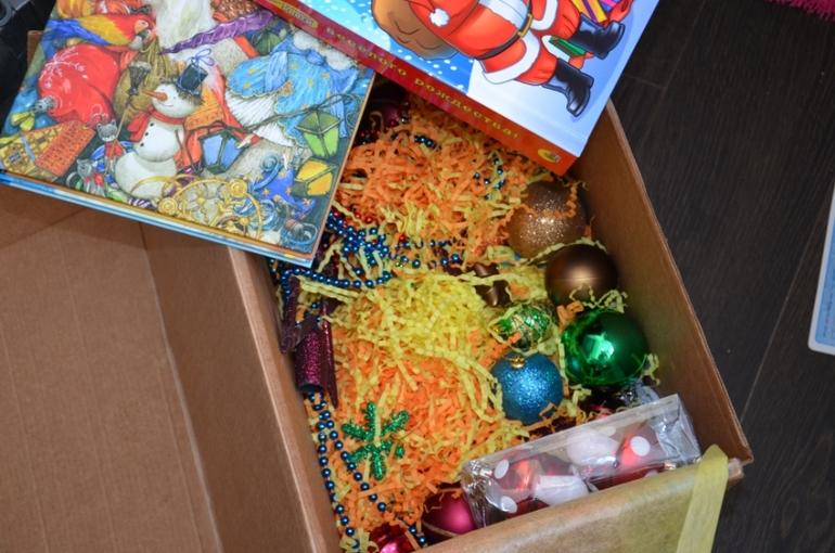Новогодние игрушки отправились на отдых