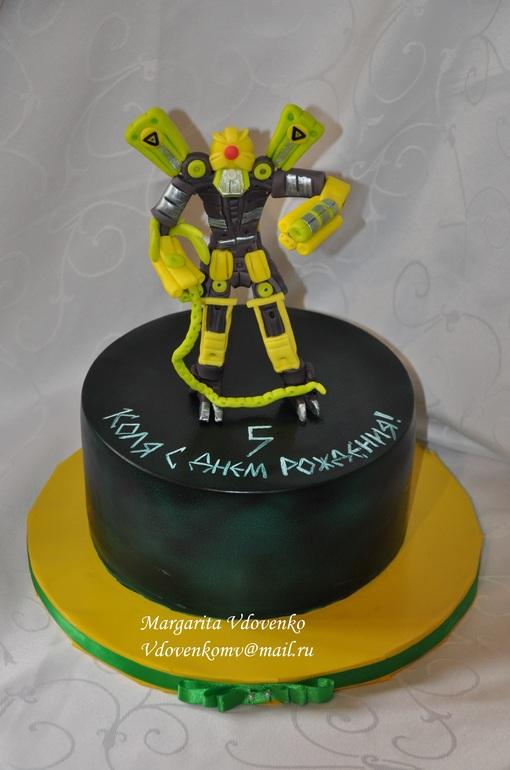 Как сделать торт робота 997