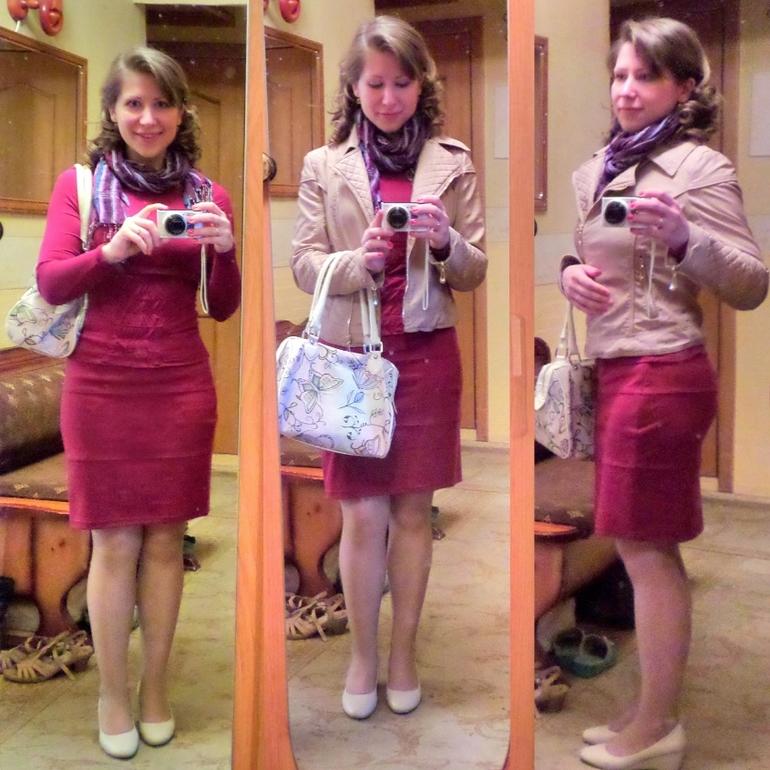 Флешмоб с юбками