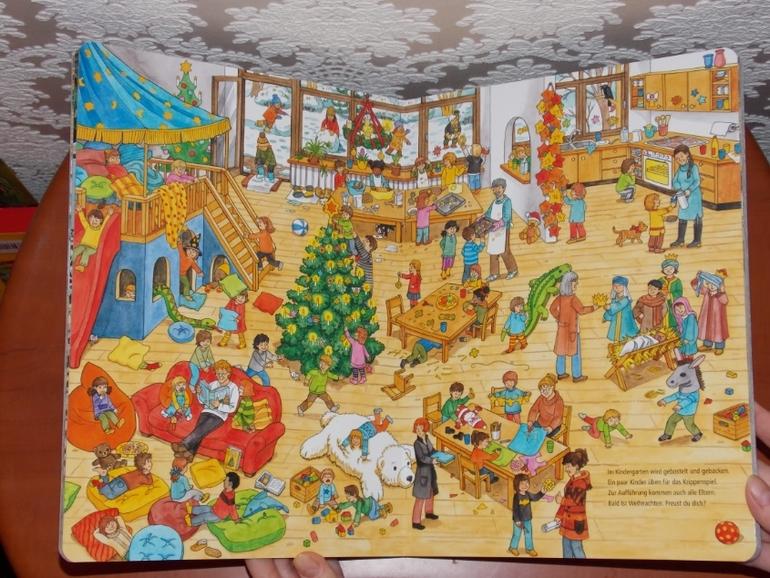 Wimmelbuch Weihnachten.развороты Mein Extradickes Wimmelbuch Weihnachten By Caryad Roy
