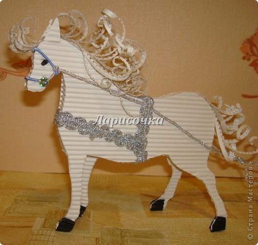 Из картона лошадки своими руками
