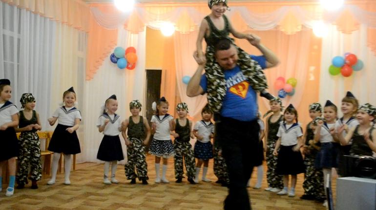 Сценарий праздника для папы в детском саду