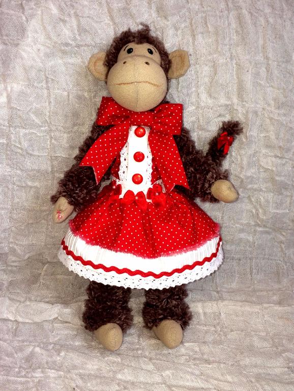 Куклы тильды обезьянки своими руками