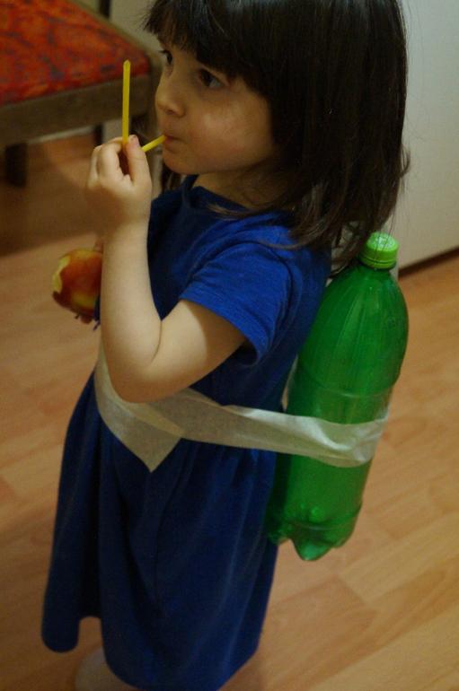 Акваланг из бутылок для детей