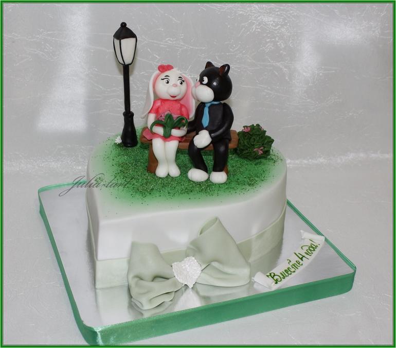 Торт на годовщину знакомства