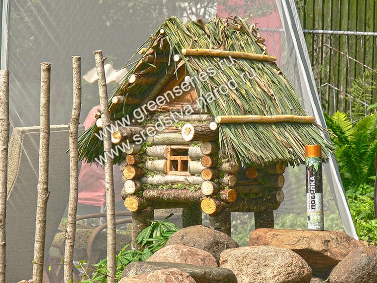 Домик декоративный своими руками деревянный