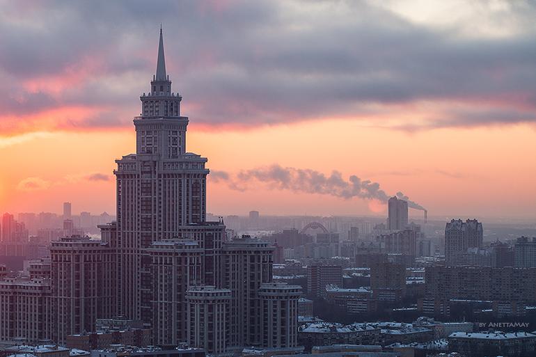 Закатное… Москва